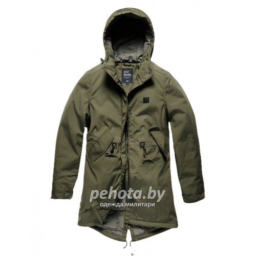 Куртка женская Britt ladies parka 25304 Olive Drab | Vintage Industries фото 1