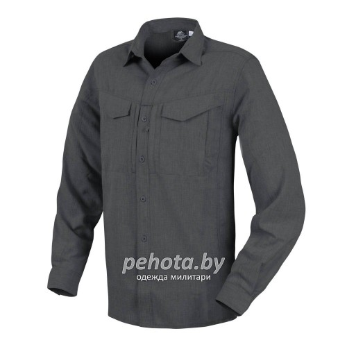 Рубашка Defender Mk2 Gentleman Shirt Black / Gray Melange | Helikon-Tex фото 1