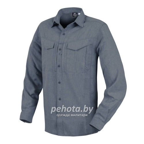 Рубашка Defender Mk2 Gentleman Shirt Melange Blue | Helikon-Tex фото 1