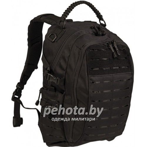 Рюкзак тактический Mission Pack Laser Cut 20L Black | Mil-Tec фото 1
