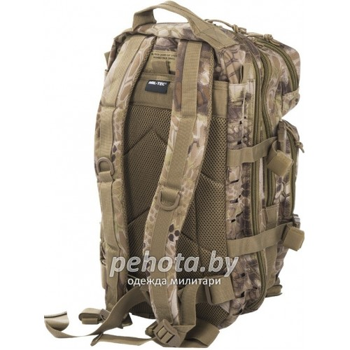 Рюкзак тактический Assault Laser Cut 40L Mandra Tan | Mil-Tec фото 2