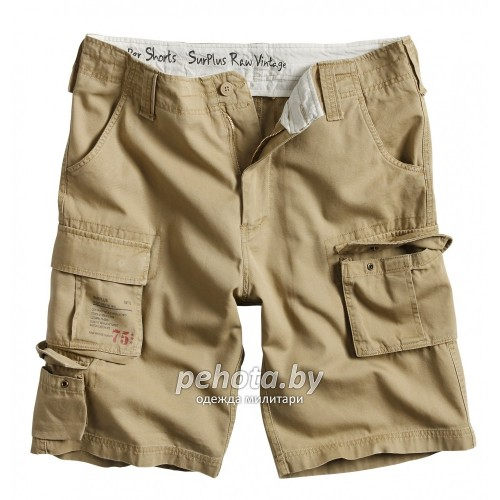 Шорты Trooper Shorts Beige | Surplus фото 1