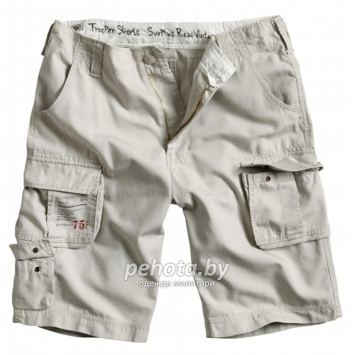 Шорты Trooper Shorts Off-White | Surplus фото 1