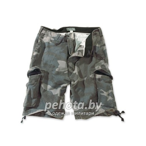 Шорты VIintage Shorts Washed NightCamo| Surplus фото 1