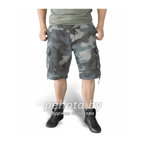Шорты VIintage Shorts Washed NightCamo| Surplus фото 2