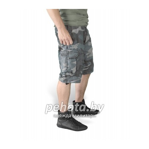Шорты VIintage Shorts Washed NightCamo| Surplus фото 3