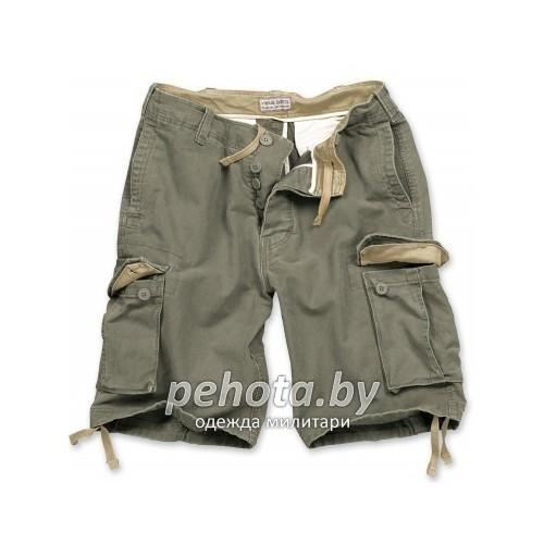Шорты VIintage Shorts Washed Olive| Surplus фото 1