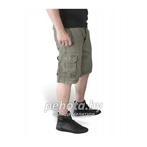 Шорты VIintage Shorts Washed Olive| Surplus фото 4