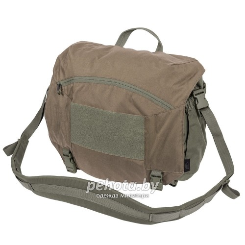 Сумка URBAN COURIER BAG Large Coyote / Adaptive Green | Helikon-Tex фото 1