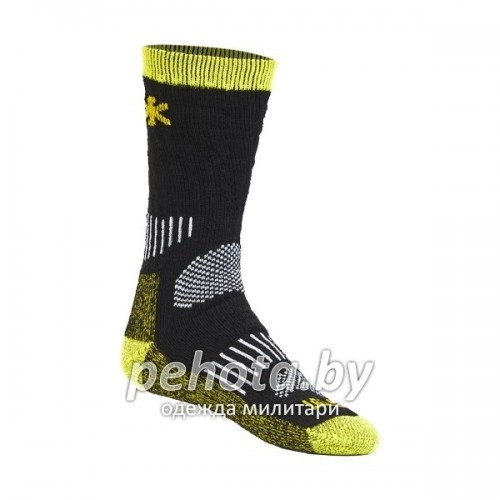 Термоноски Balance Wool T2P Black/Yellow | Norfin фото 1